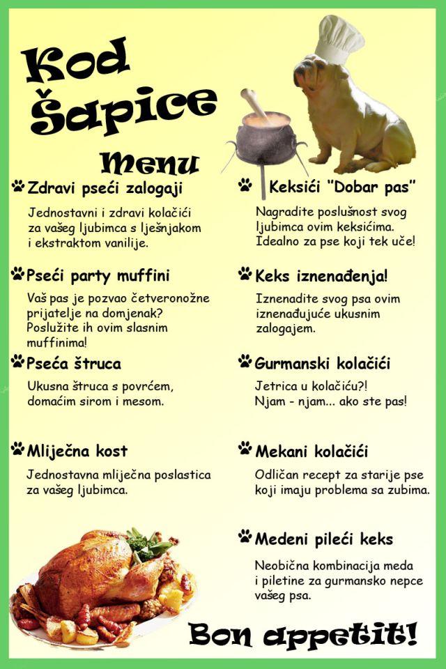 Gurmanski recepti za pse